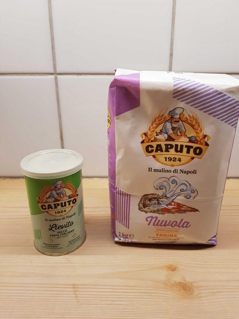 caputo yeast and caputo nuvola