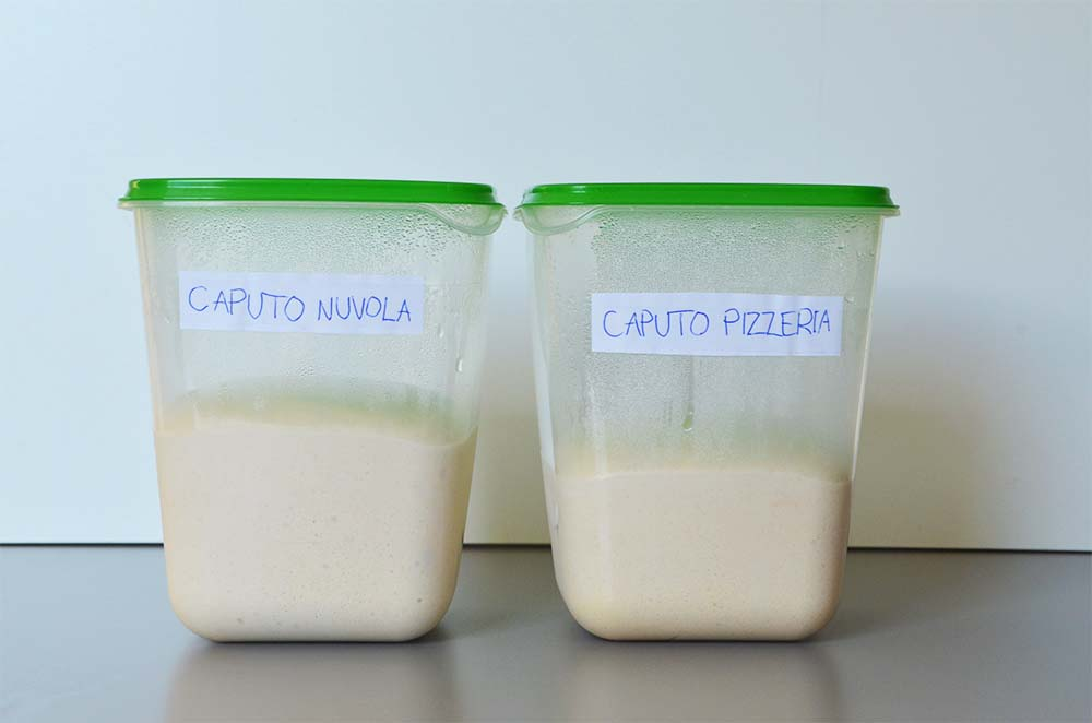 Caputo Pizzaeria and Caputo Nuvona Hydration Comparison