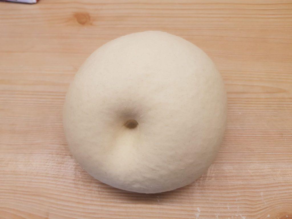 Pizza dough not springing back